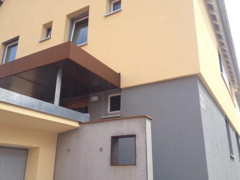 Ökologische Fassadendämmung